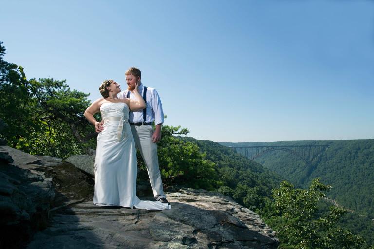Wv Wedding Photographer Adventures On The Gorge